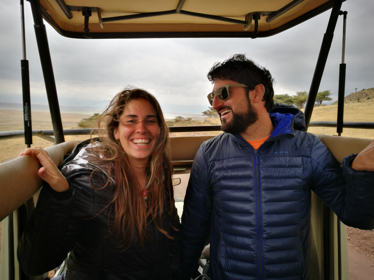 Nosotros más que felices con nuestro safari por Africa