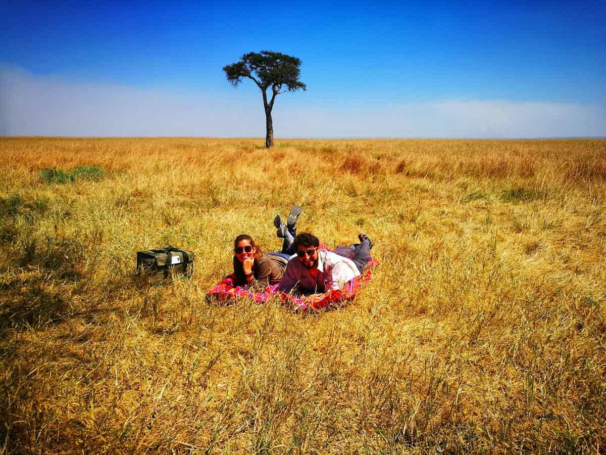 De pic nic por Masai Mara