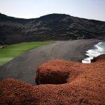 Lago verde de Lanzarote