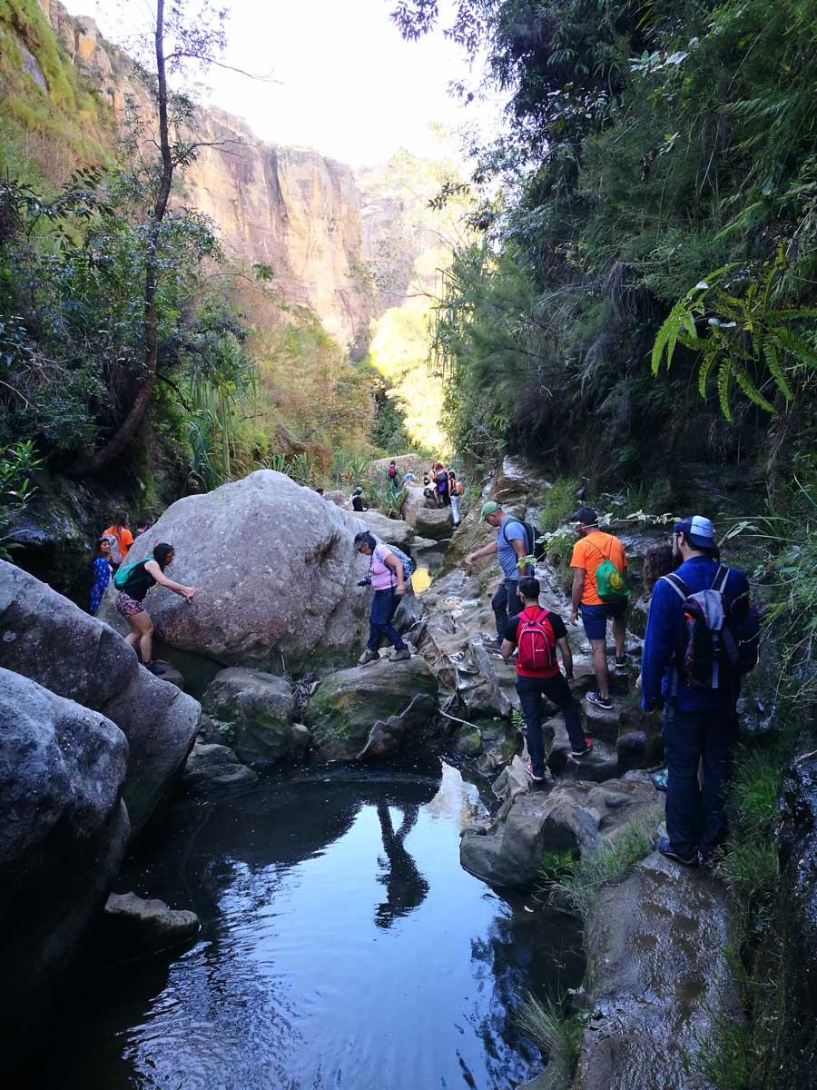 Trekking por Madagascar