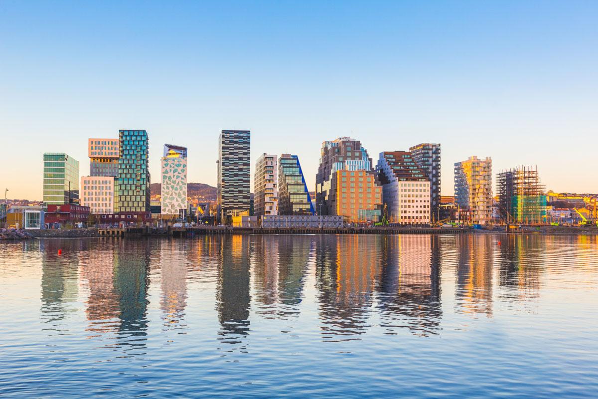 Arquitectura moderna en Oslo