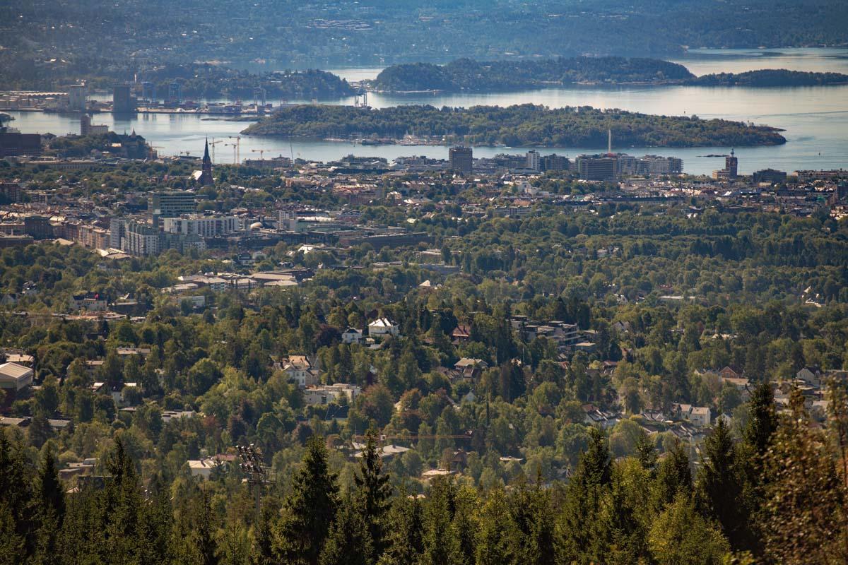 Panoramica de Oslo