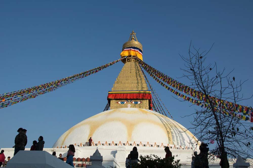 Estupa en Nepal