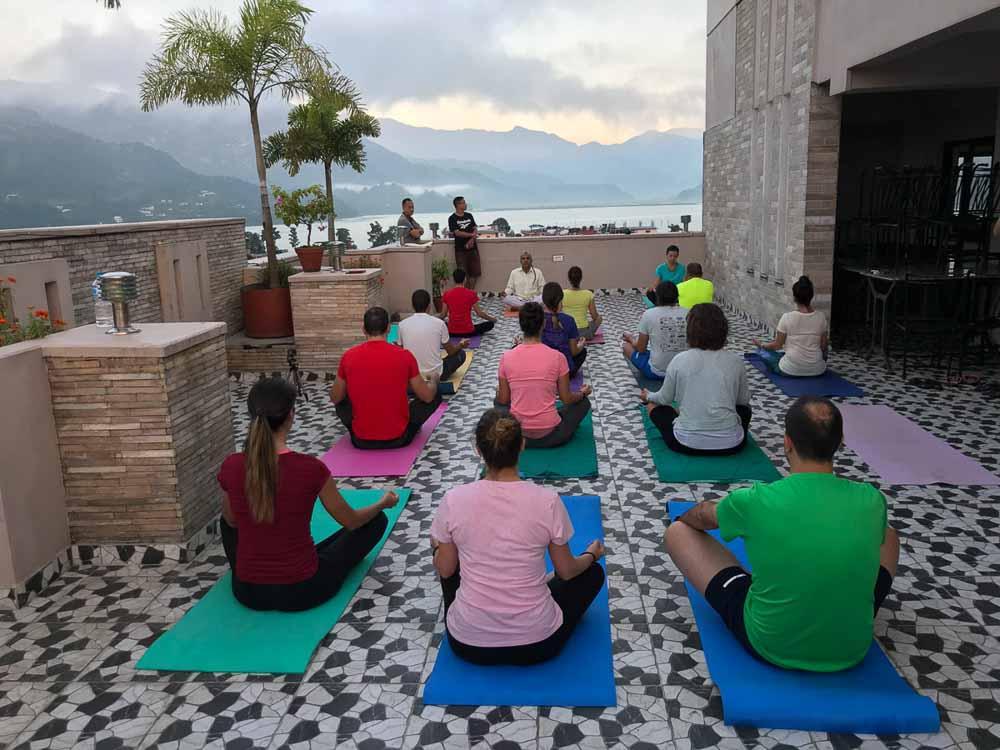 Yoga en Nepal