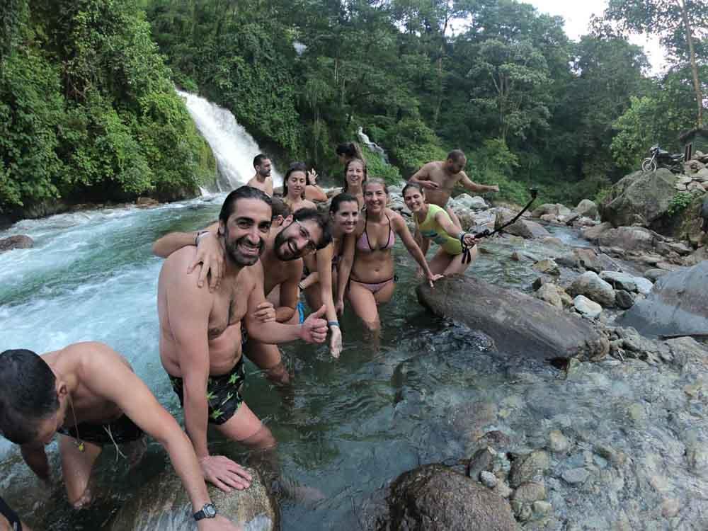 Baño en Nepal