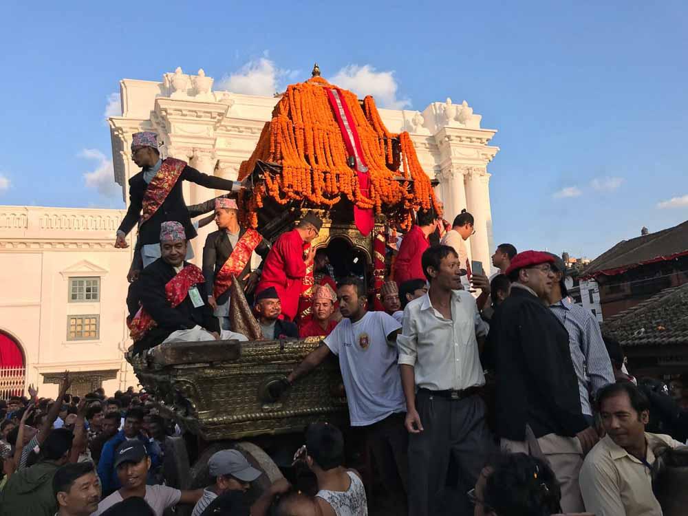 La diosa Kumari