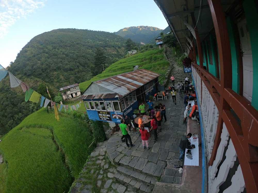 Alojamiento en Nepal