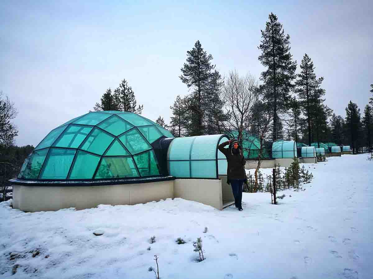 Dormir en Laponia
