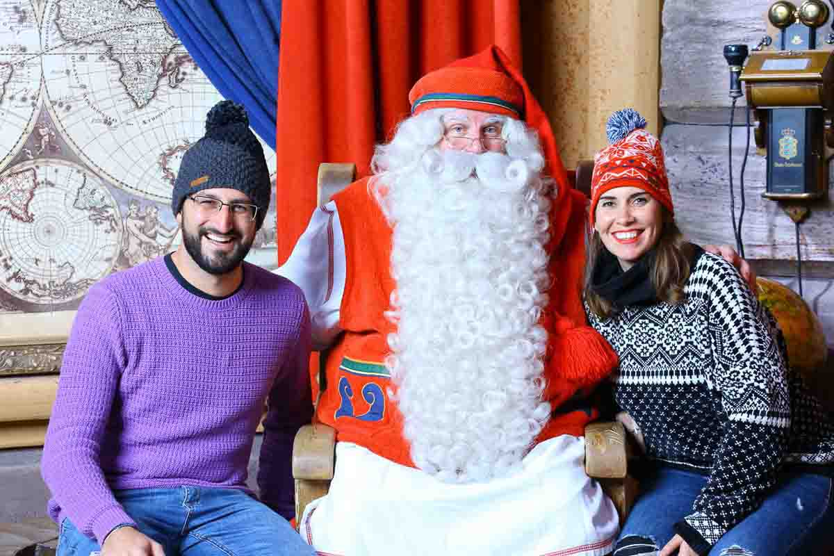 Con Papa Noel