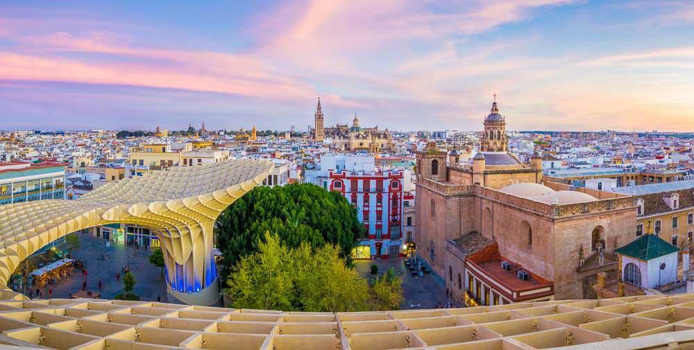 Que ver en Sevilla: Catedral desde las Setas