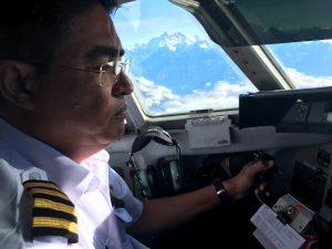 Volando sobre el Everest