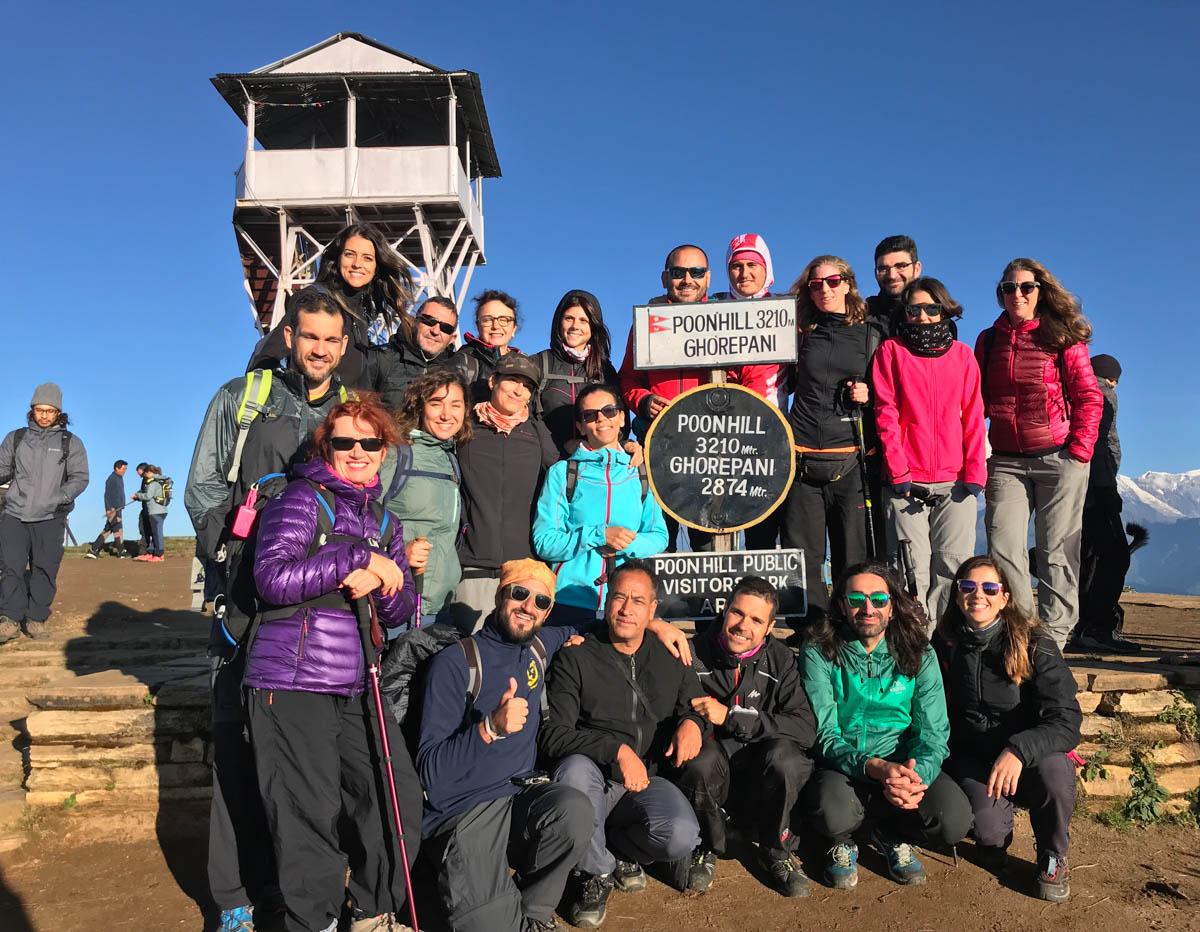 Nuestra cima en Nepal
