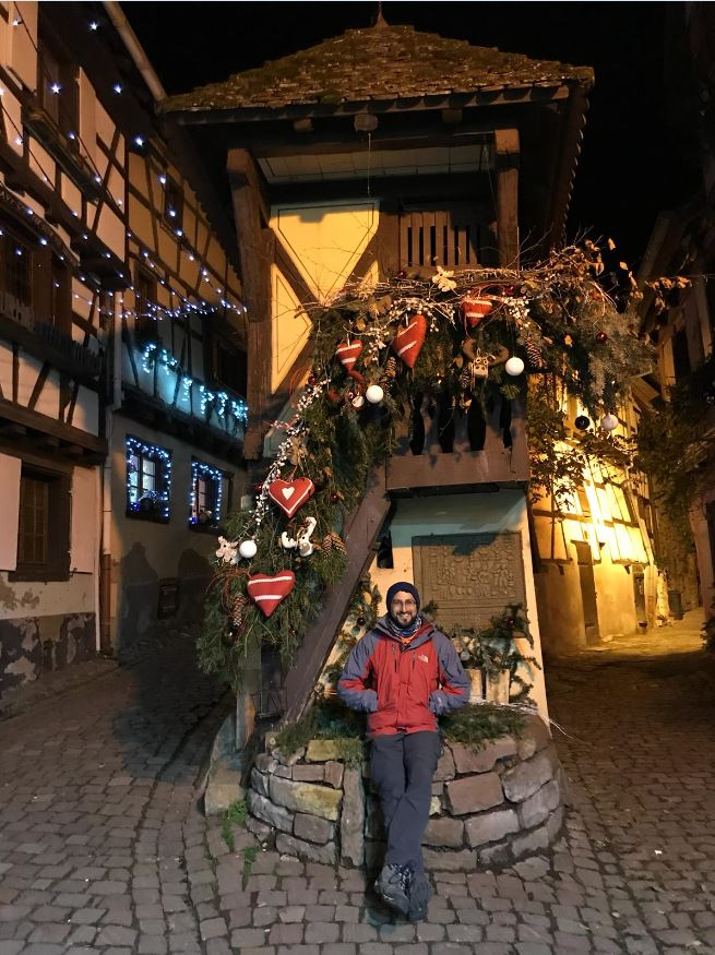Eguisheim de noche