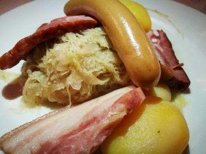 Comer en Alsacia