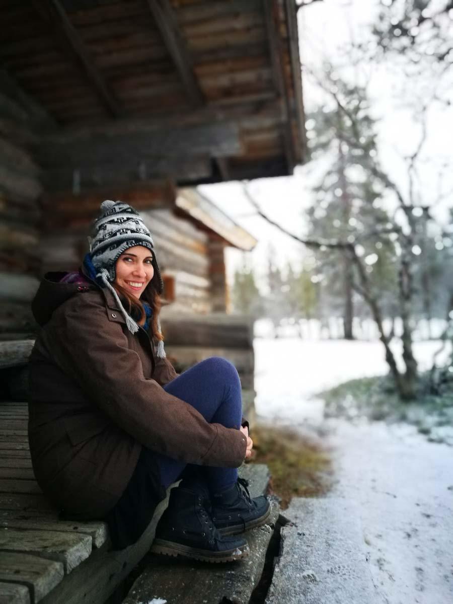 MJ en Laponia