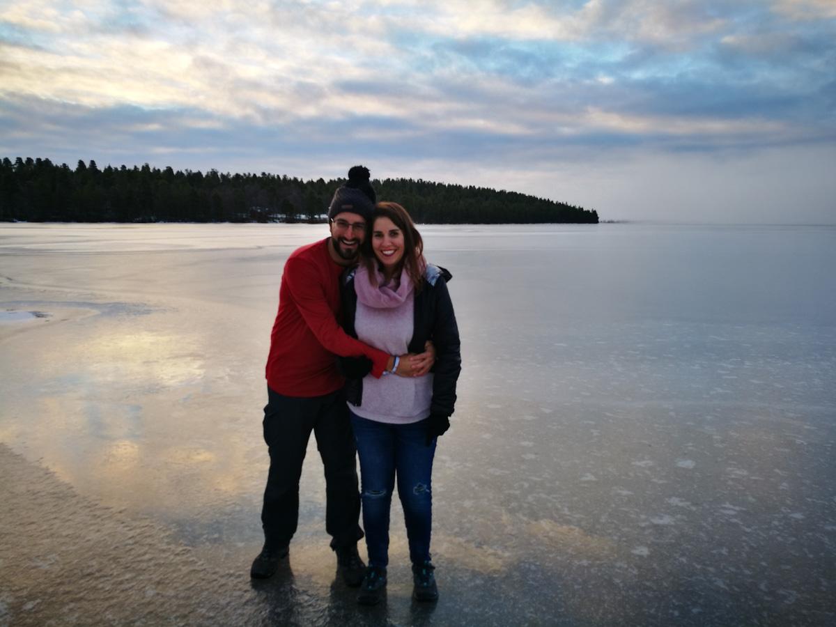Lago en Inari