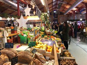 Mercado de Abastos en Navidad