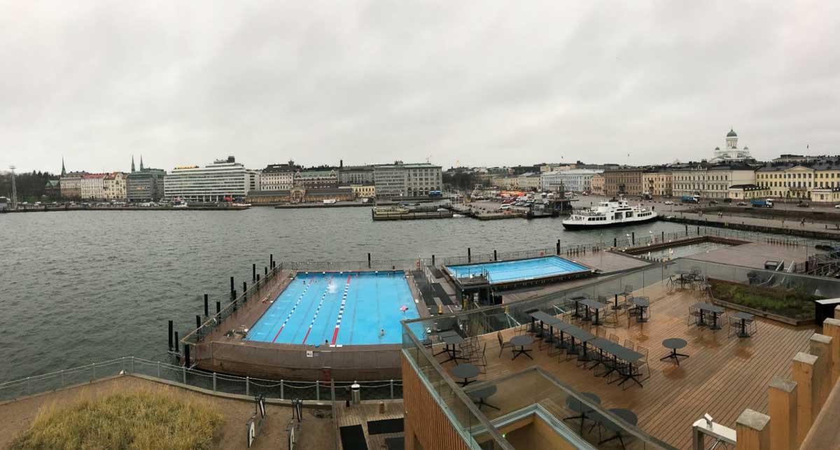 Piscinas en Helsinki