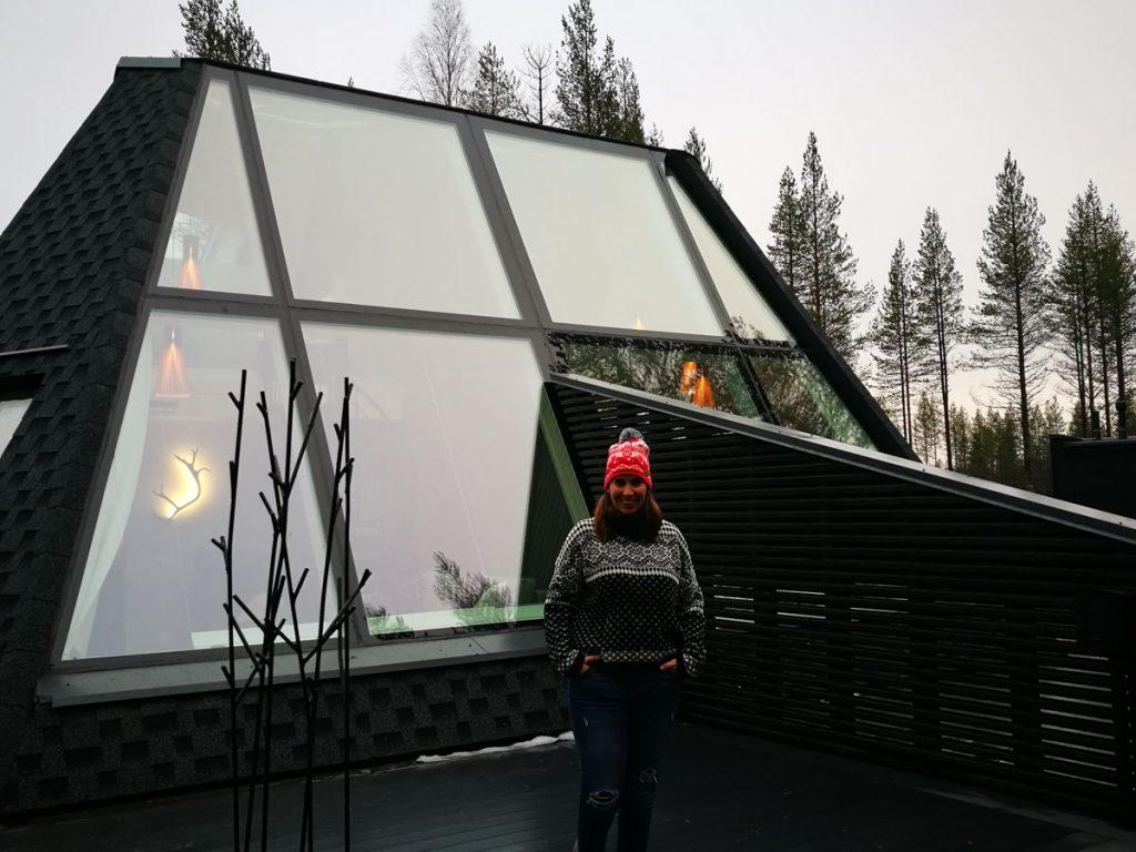 Un alojamiento iglu