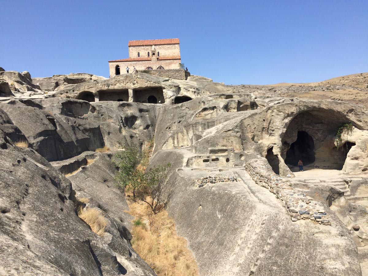 Ciudad Cueva Georgia