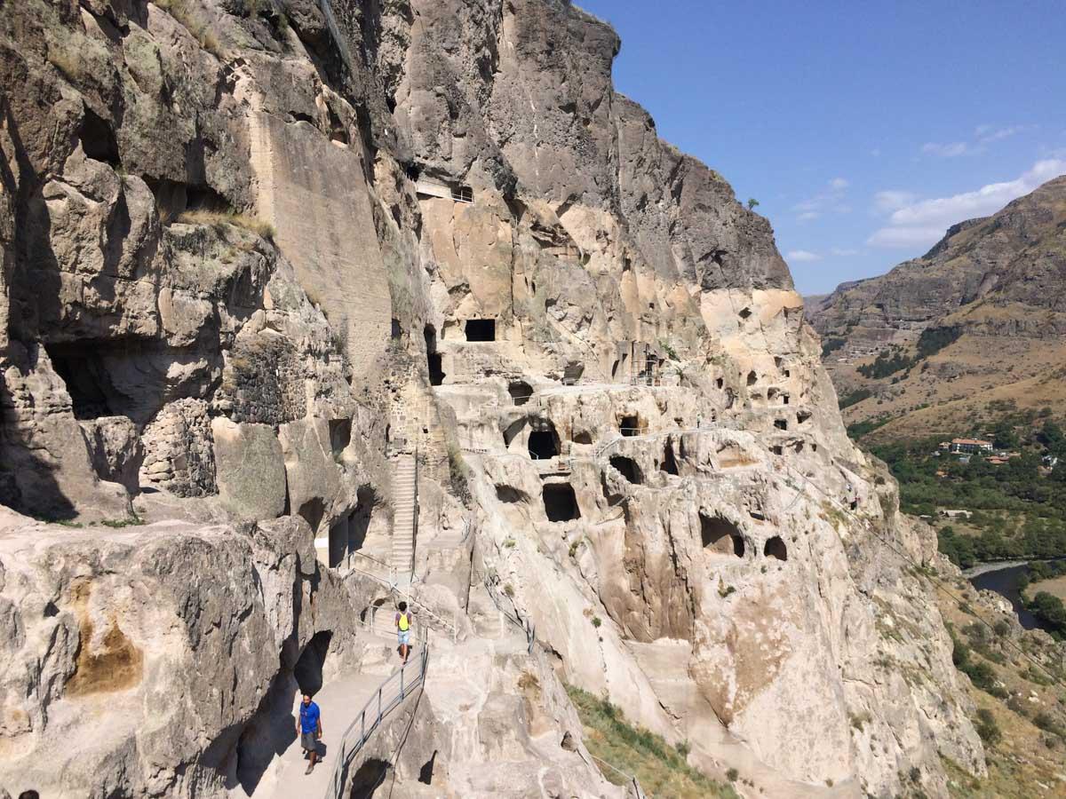 Ciudades cuevas Georgia
