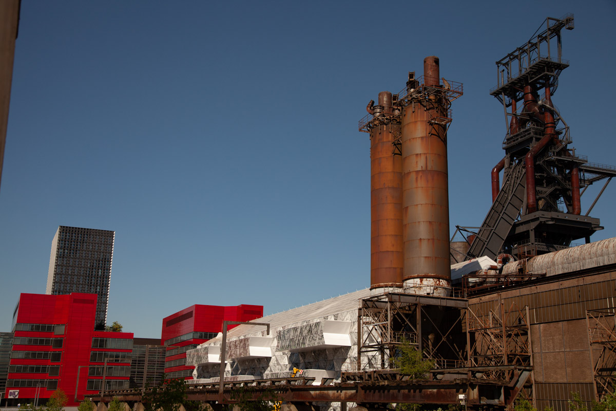 Zona minera e industrial de Luxemburgo