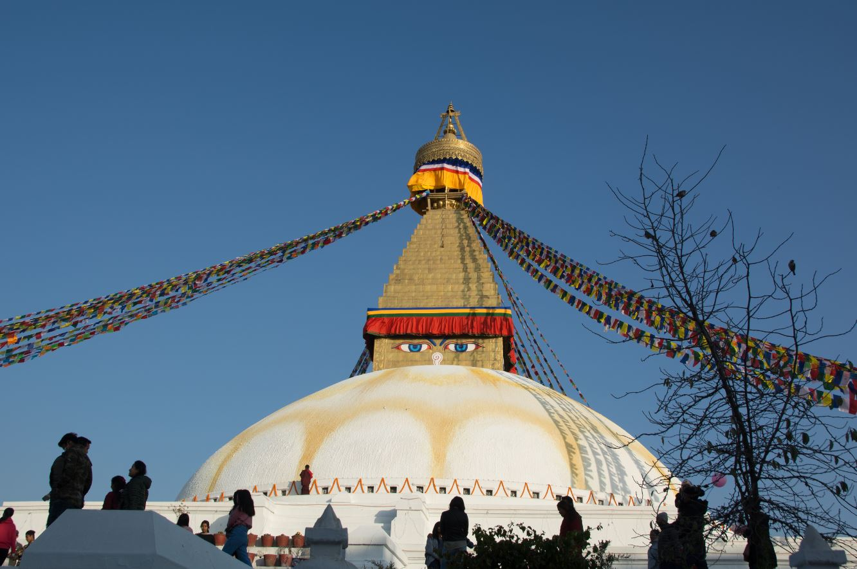 Estupa gigante Nepal