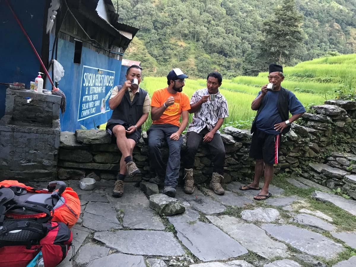 Descanso en Nepal