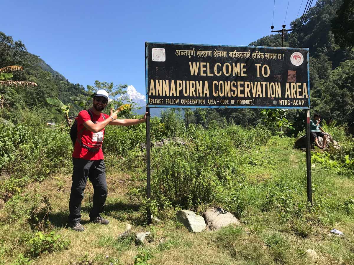 Comienzo trekking nepal
