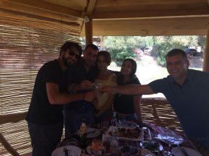 Amigos en Armenia