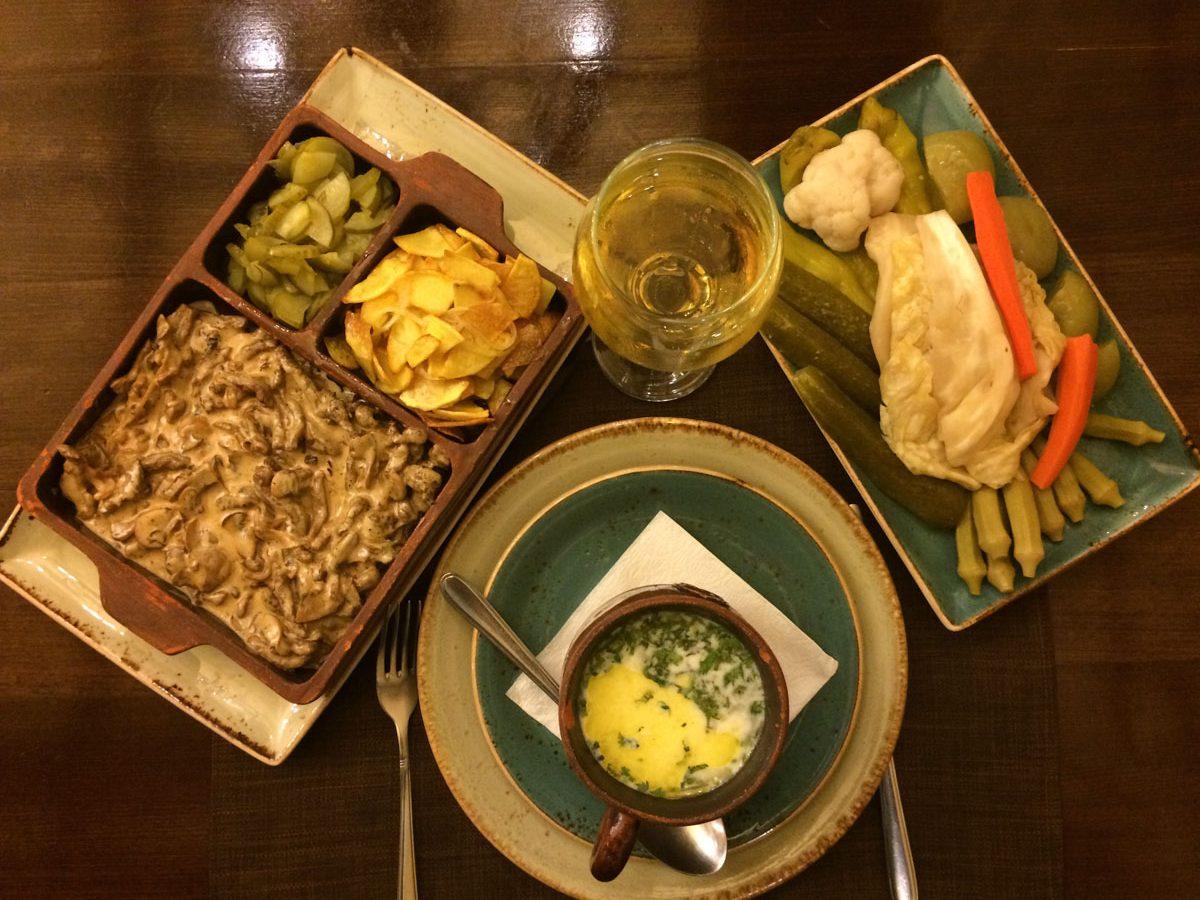 Comida tipica en Armenia