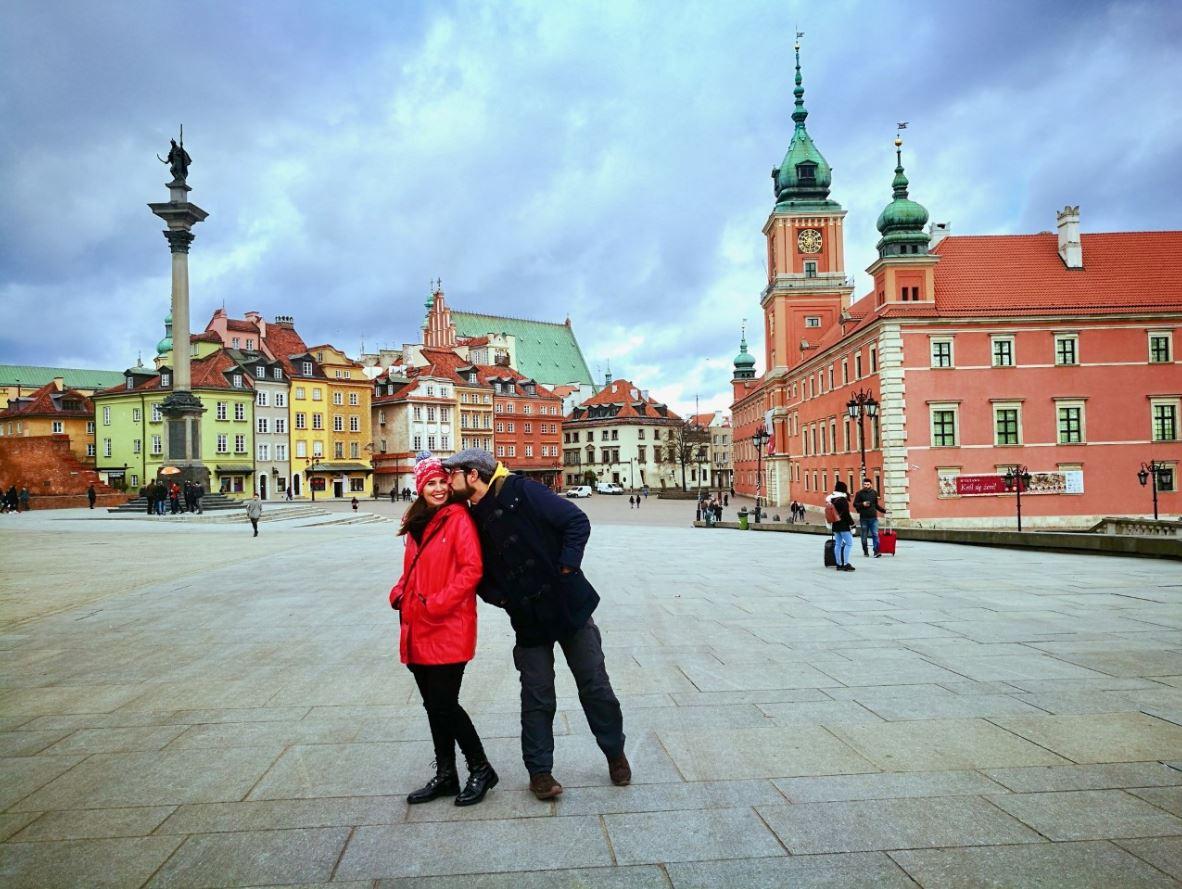 Centro historico de Varsovia