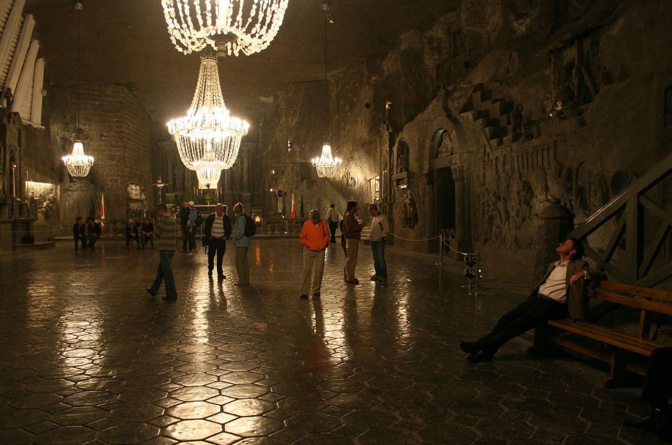 Minas de sal de Cracovia