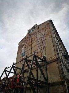 Mural efimero