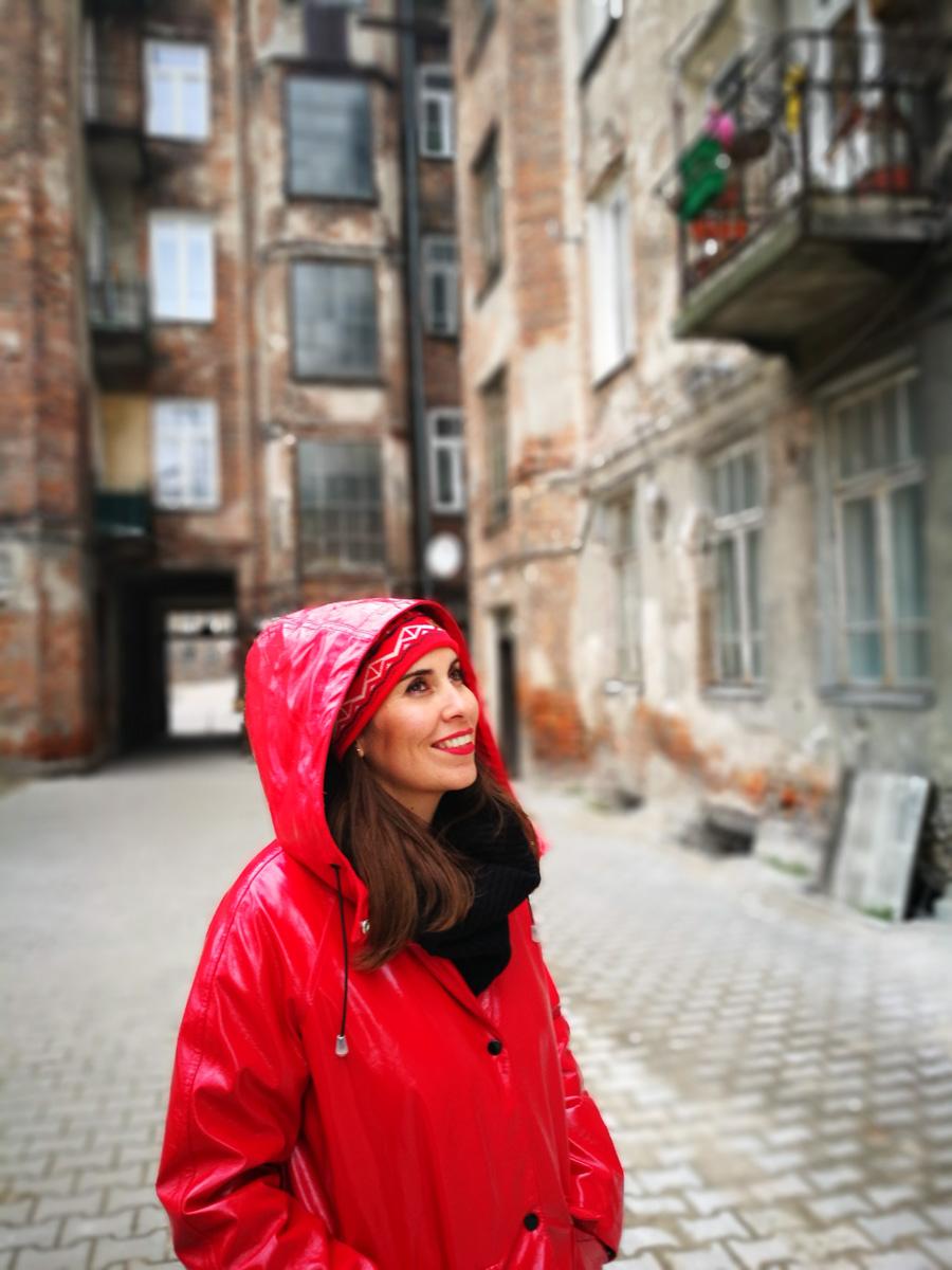 MJ en el barrio de Praga