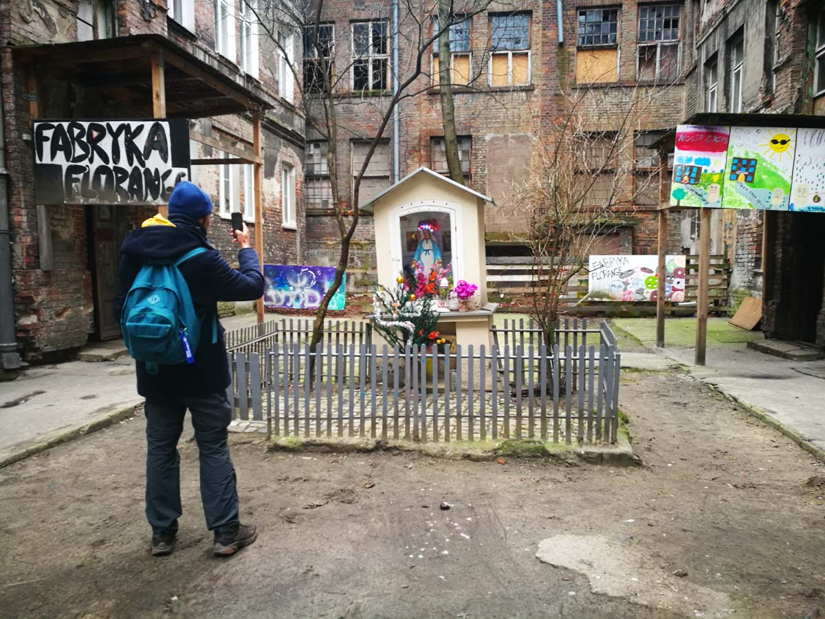 Altar en el barrio de Praga