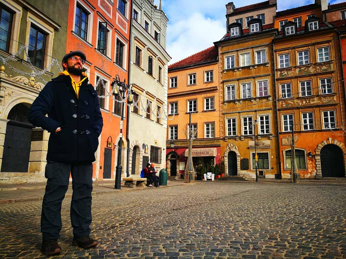 Plaza mas antigua de Varsovia