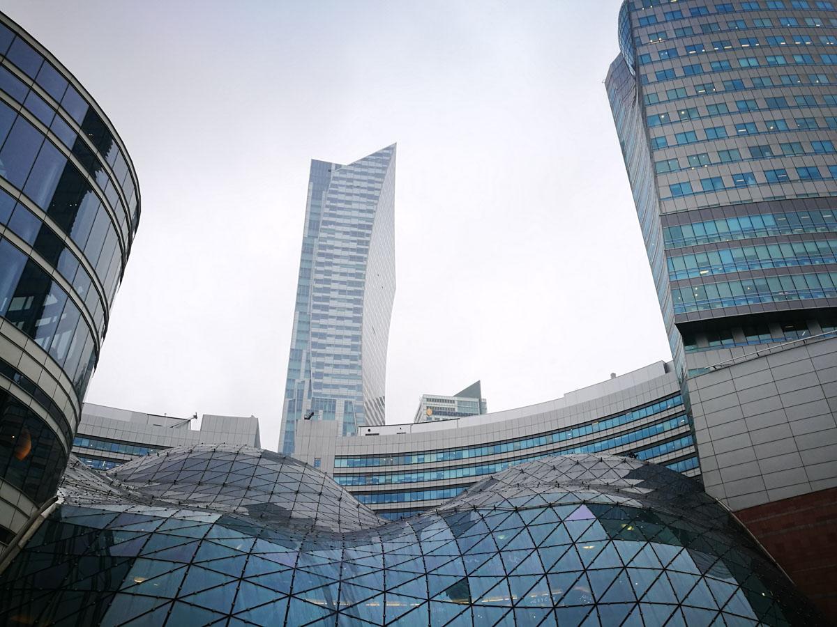 Rascacielos en Varsovia