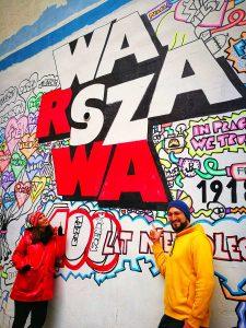 Mural de Varsovia