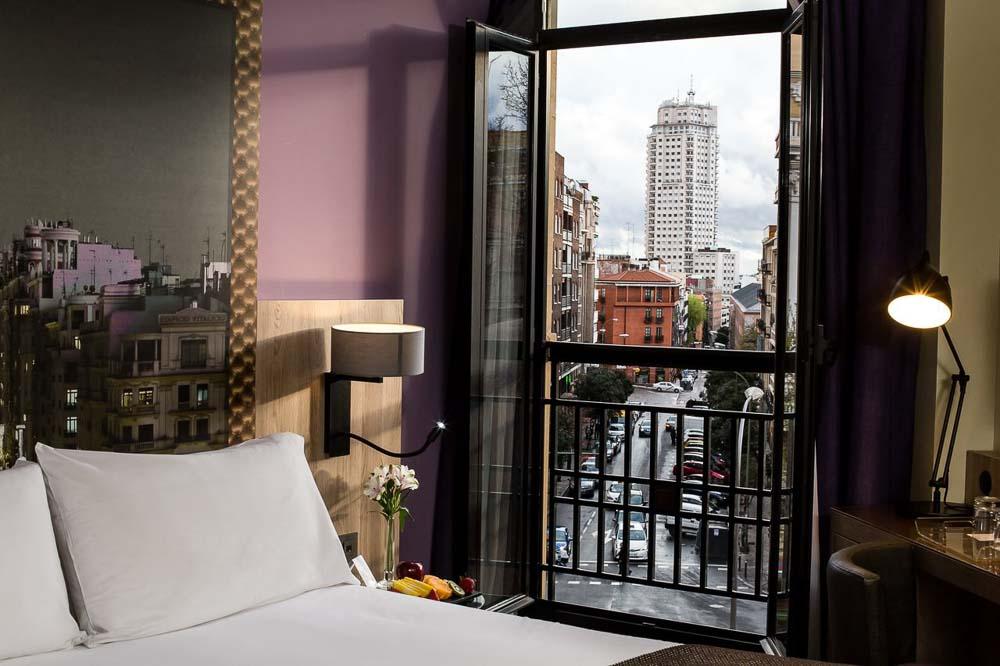Hoteles en Madrid centro