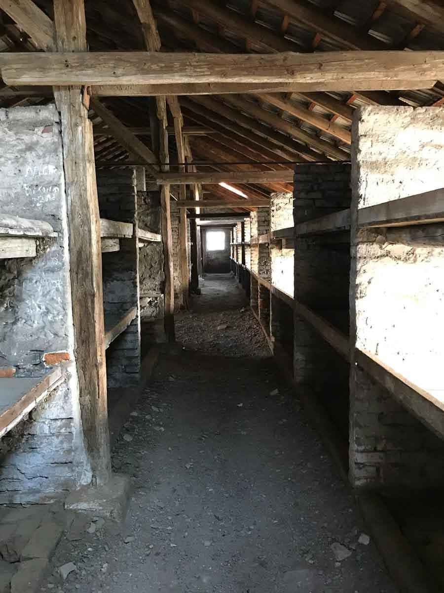 Literas en Auschwitz
