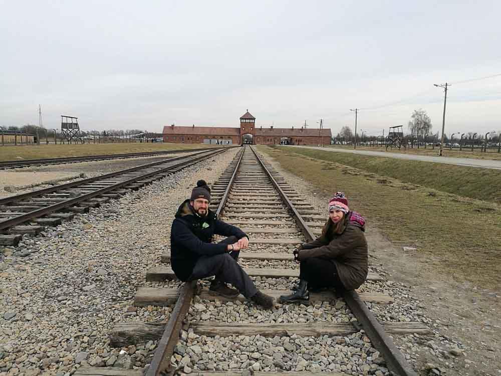 Railes en Auschwitz