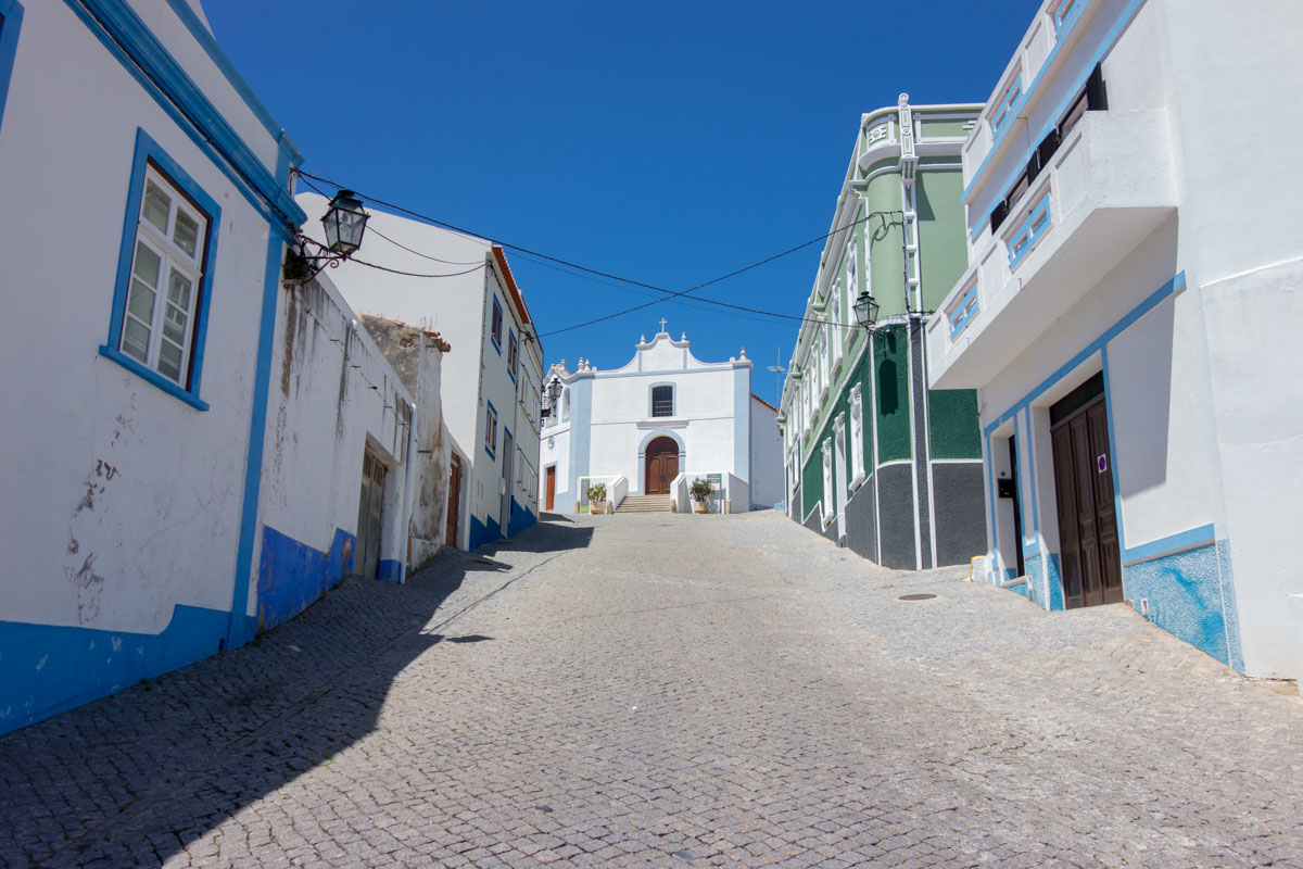 Aljezur y casa rural en Algarve