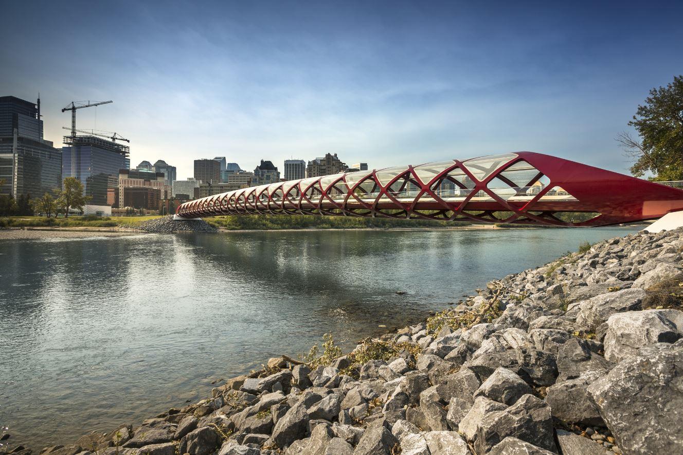 Puente de la Paz en Calgary