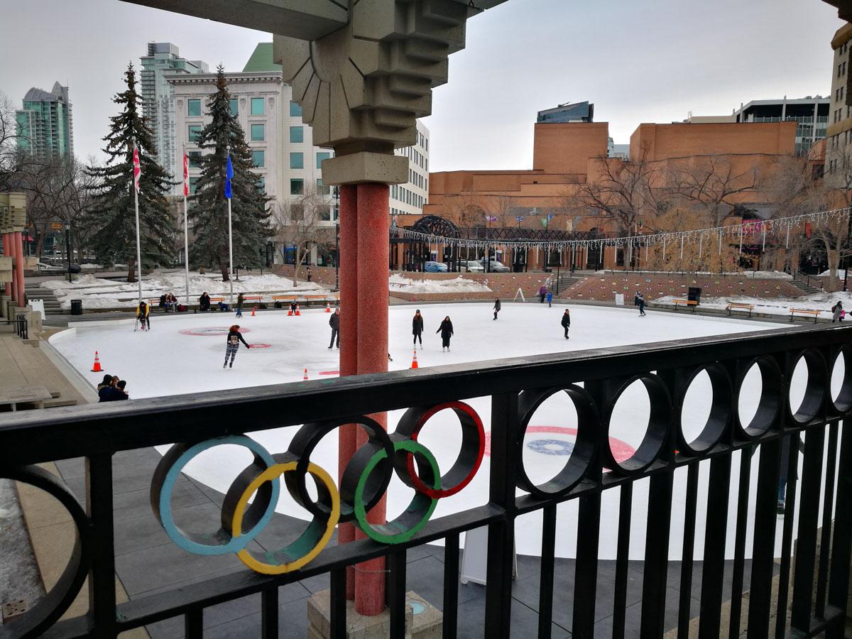 Plaza olimpica de Calgary