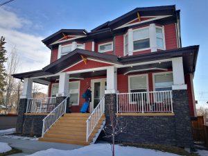 Nuestra casita en Calgary