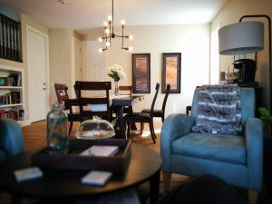 El salon de nuestra casita en Calgary