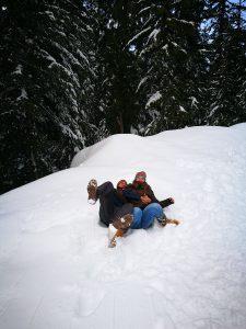 Nos caimos en Grouse Montain