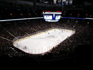 Partido de hockey sobre hielo