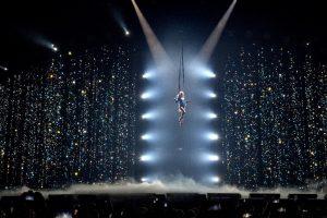 Espectaculo del Circo del Sol en Montreal